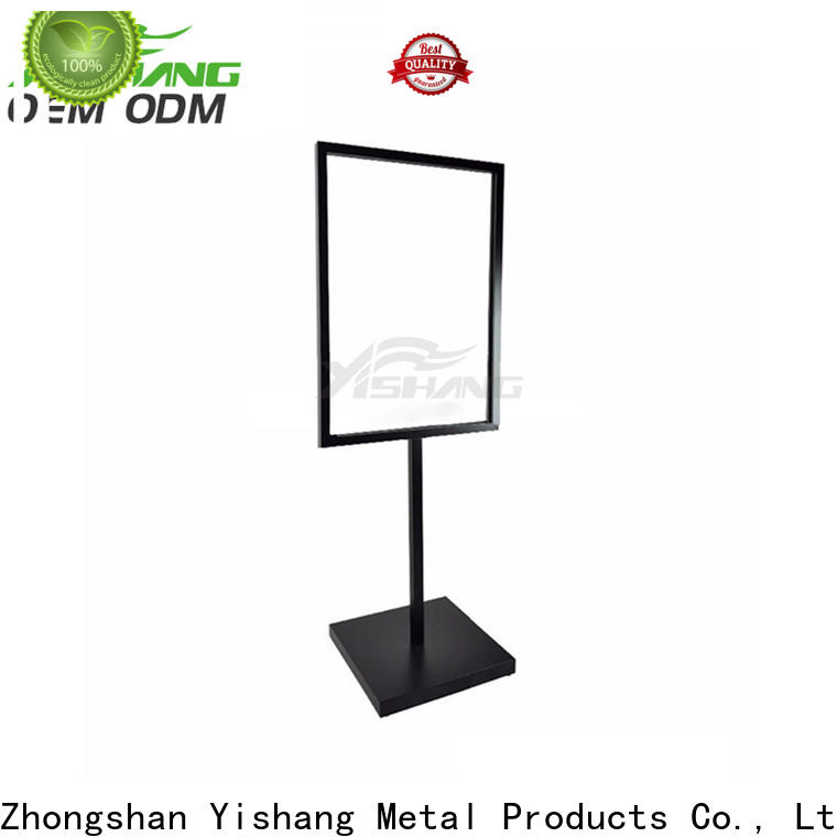 YISHANG poster stand floor standing for sale