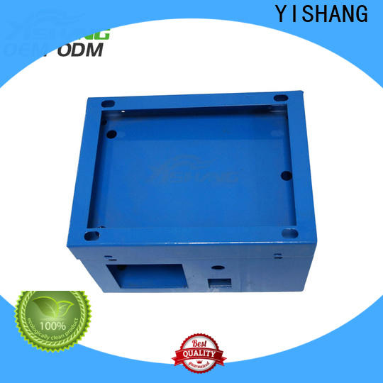 YISHANG elctronics custom metal fabrication case for shopping mall