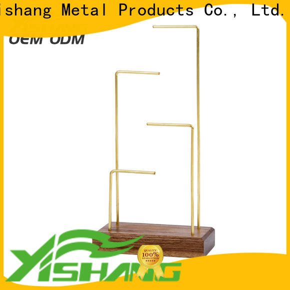 YISHANG necklace display long for stores