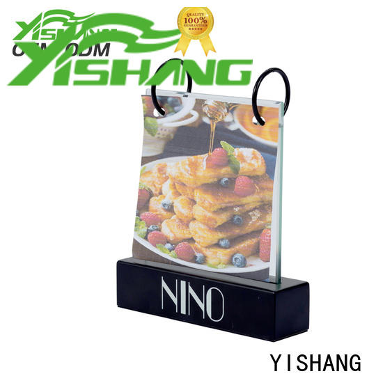YISHANG poster stand fast delivery for sale