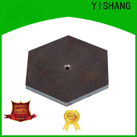 square small metal parts fabrication from signs