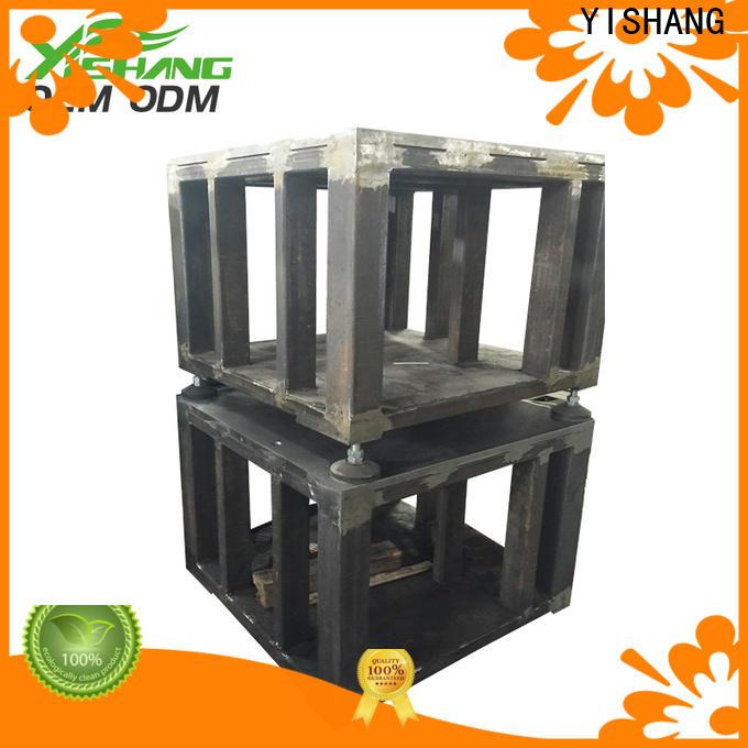YISHANG steel fabrication charity for plaza