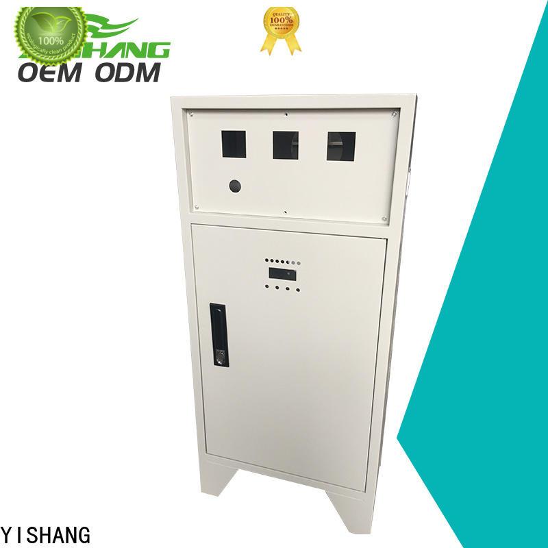 YISHANG lid aluminium electrical enclosure charity for plaza
