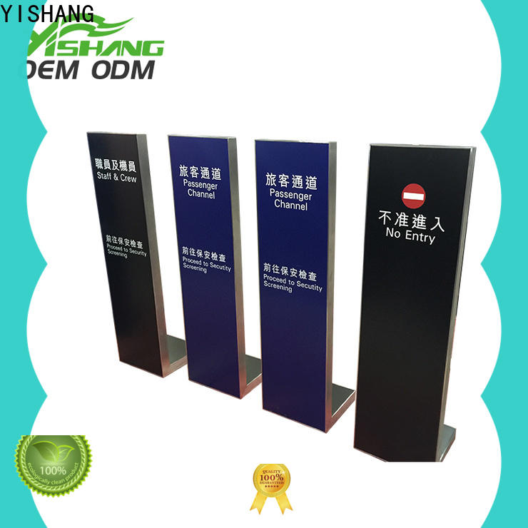YISHANG holders sign holder stand online for restaurant