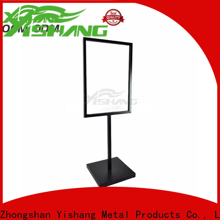 YISHANG holders poster stand floor standing for sale