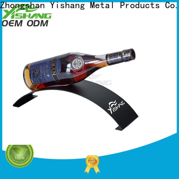 YISHANG metal wine racks tabletops for bottle