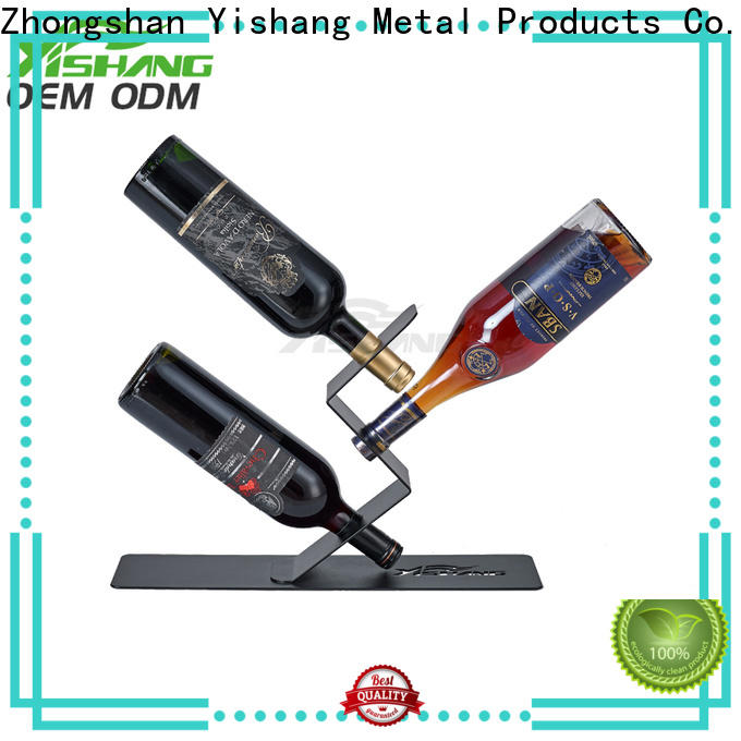 YISHANG clear kitchen wine rack tabletops for sale
