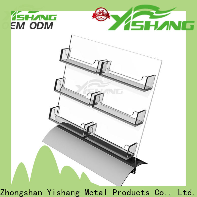 YISHANG greeting card display manufacturer for desk