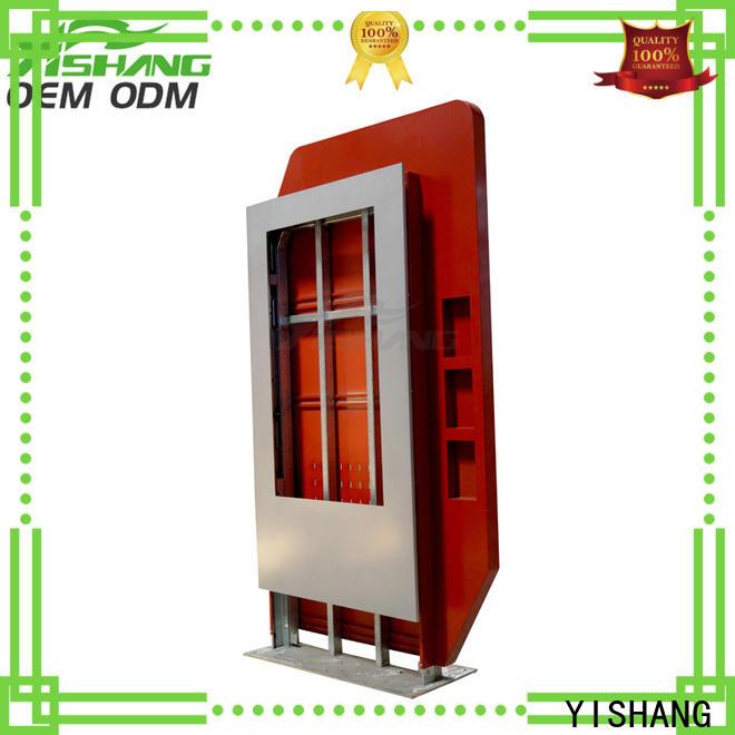 YISHANG light box display enclosure for airport