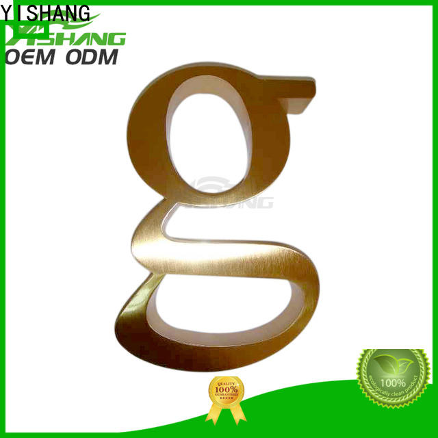 metal metal letters for wall supplier for store