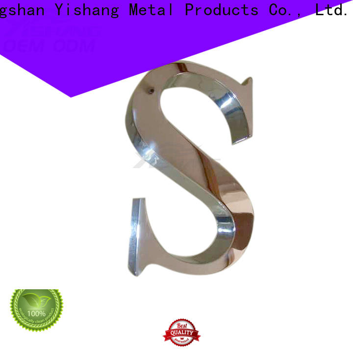 numbers metal letters for wall manufacturer for wall