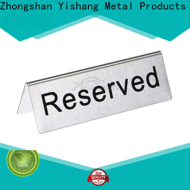 YISHANG table poster stand online for restaurant