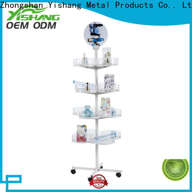 YISHANG baskets rotating display stand dual for sale