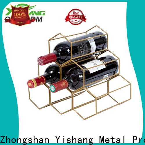 YISHANG metal wine racks coating for chateau