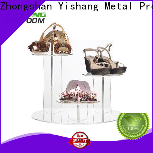 YISHANG counter shoe display shelves manufacturer for kids