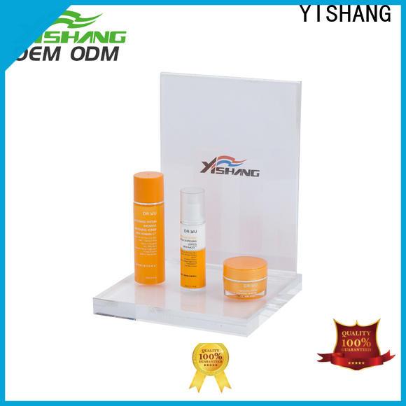 YISHANG makeup display rack for cosmetic stores
