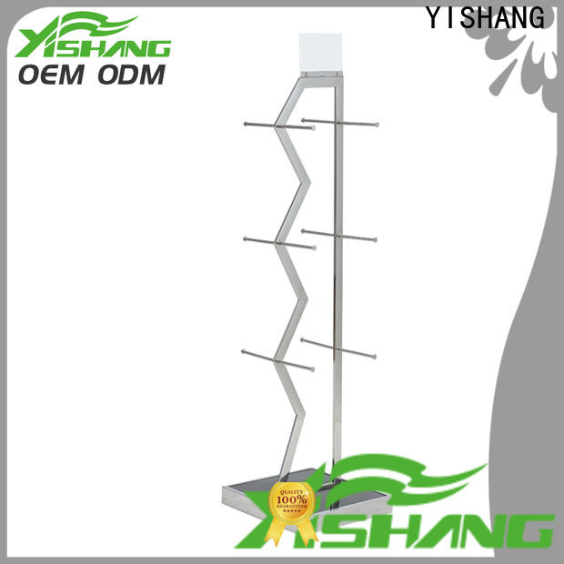 YISHANG display clothing racks for sale with mixed material for shop