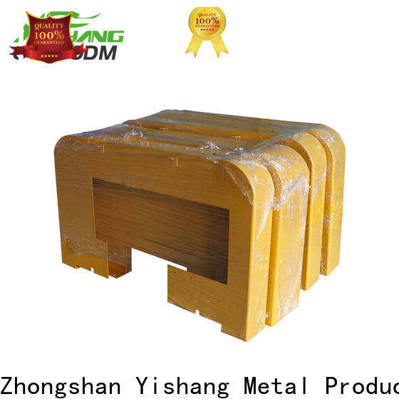 YISHANG commercial metal frame parts gold signs