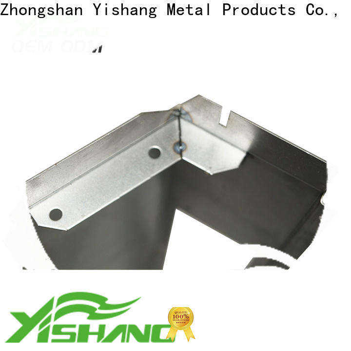 YISHANG round auto body sheet metal parts from precision