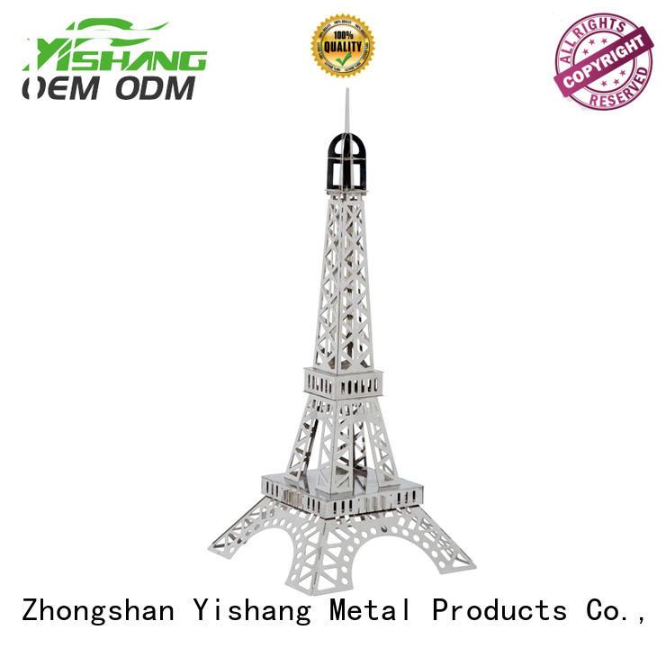 Quality YISHANG Brand metal wall organizer storage