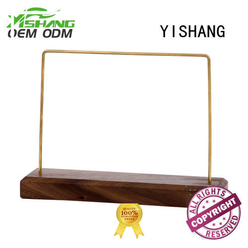 YISHANG Brand wood necklace jewelry display earring factory