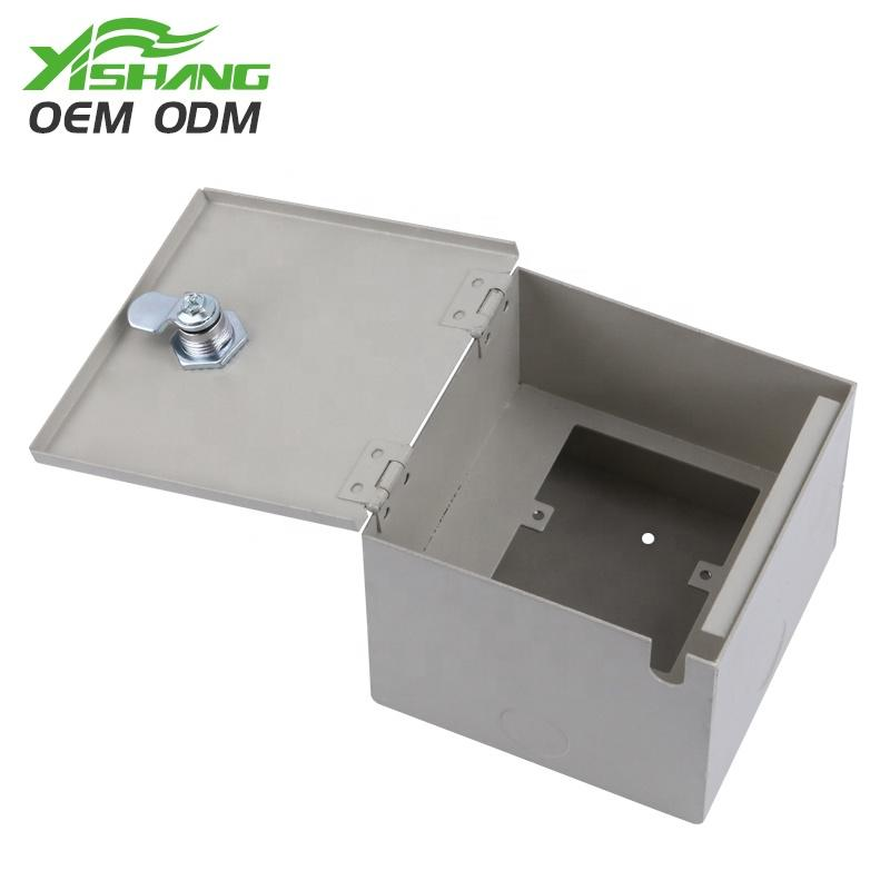 YISHANG -Custom Powder Coated Lockable Metal Box Case | Metal Case Company