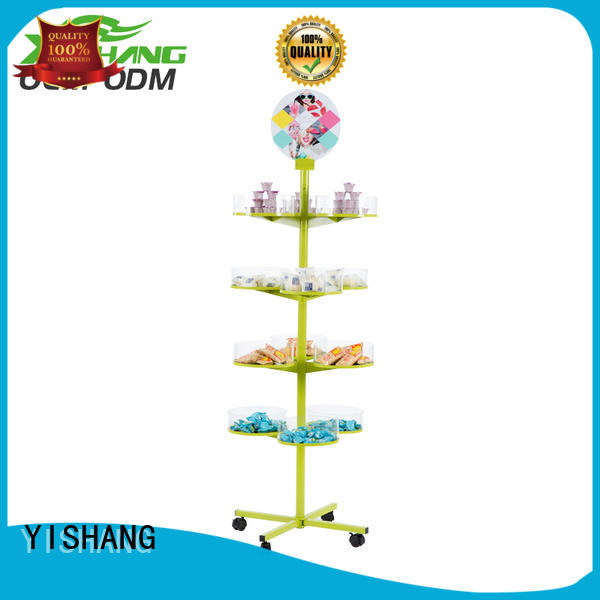 standing holder rotating display stand product YISHANG Brand company