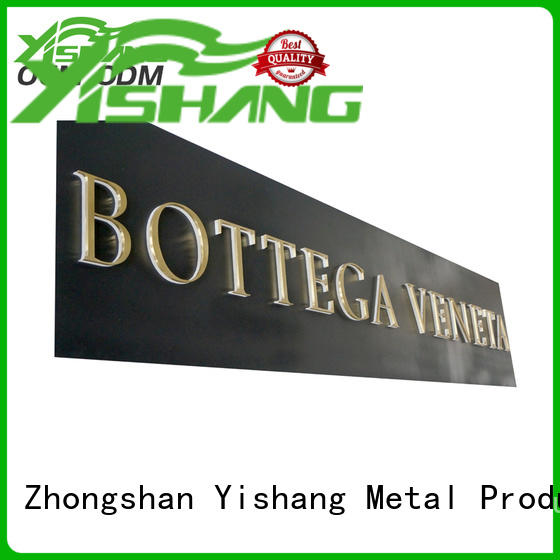 large metal letters online for store YISHANG
