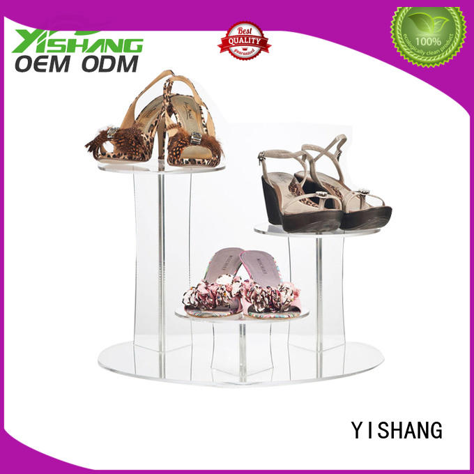 YISHANG rotating shoe display online for store
