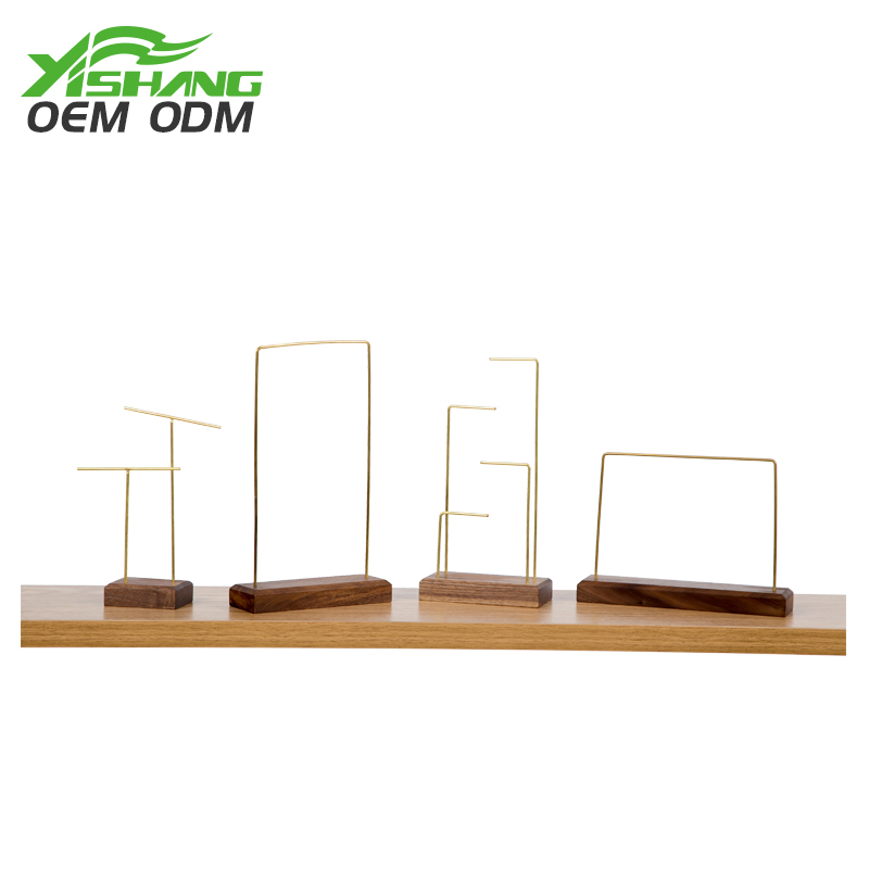 YISHANG  Custom Countertop Antique Necklace Display Stand Wholesale Jewelry Display image25
