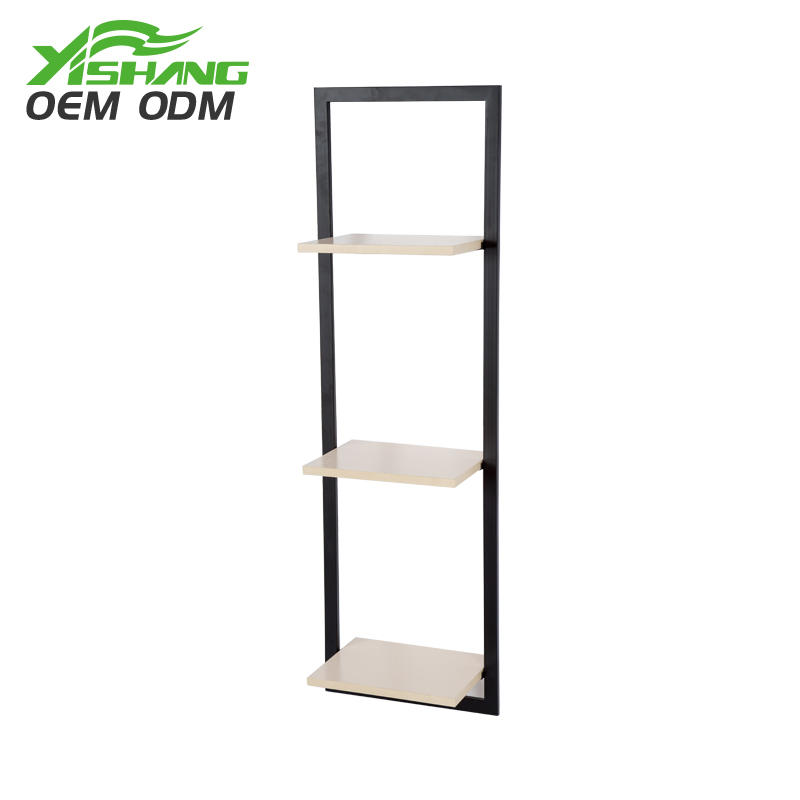 Custom Narrow Decorative Wooden Wall Shelf for Home