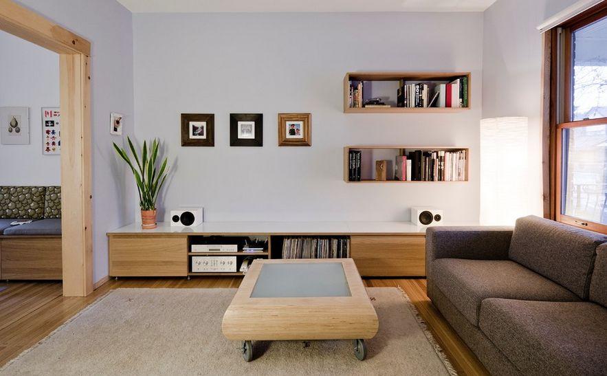 YISHANG -Custom Living Room Hanging Decor Wall Shelf Ideas-4