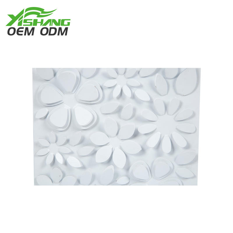 Custom Creative Nordic 3D Flower Metal Wall Decoration