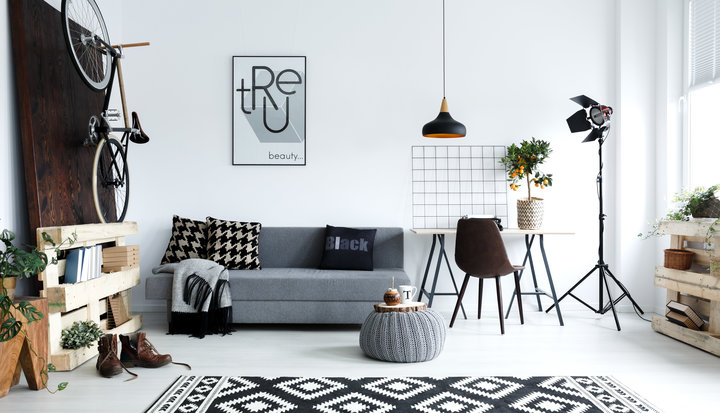 YISHANG -Custom White Flower Hanging Metal Wall Decor | Metal Wall-3