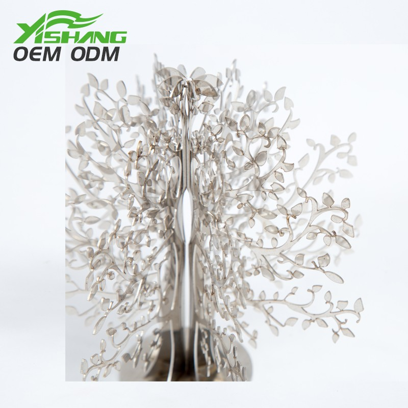 YISHANG -Professional Custom Tabletop Metal Ornament Tree Decor Supplier-1