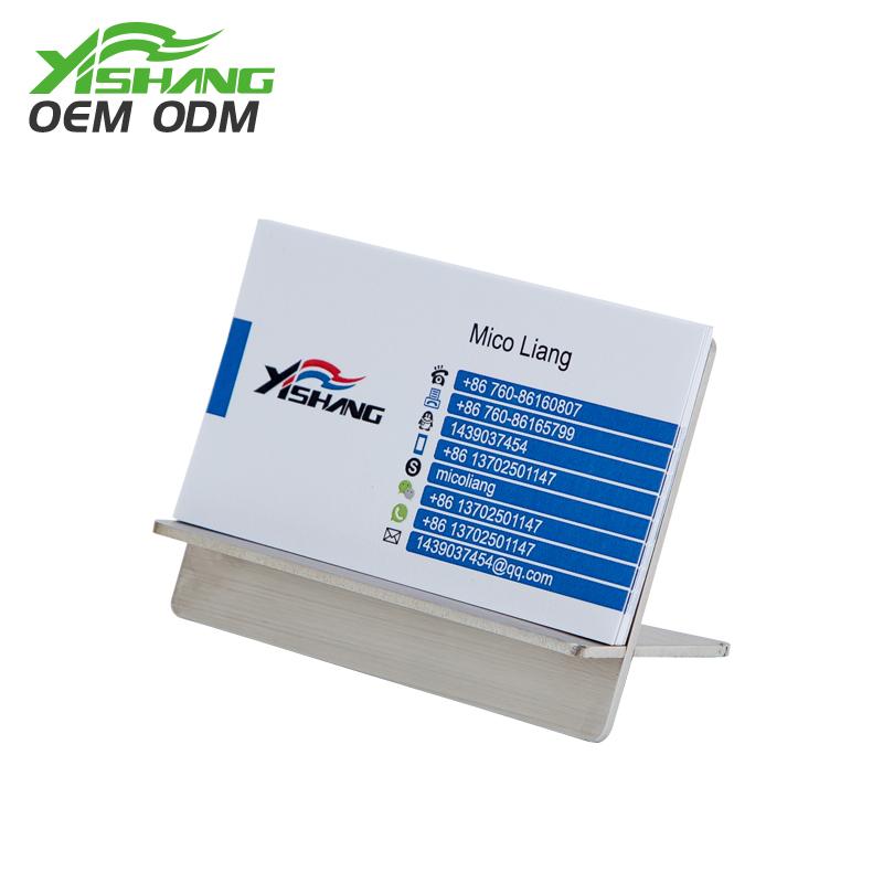 YISHANG  Custom Visiting Card Holder and Business Card Display Stand Card Display image31