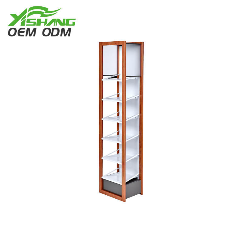 stand design professional makeup display stand YISHANG manufacture