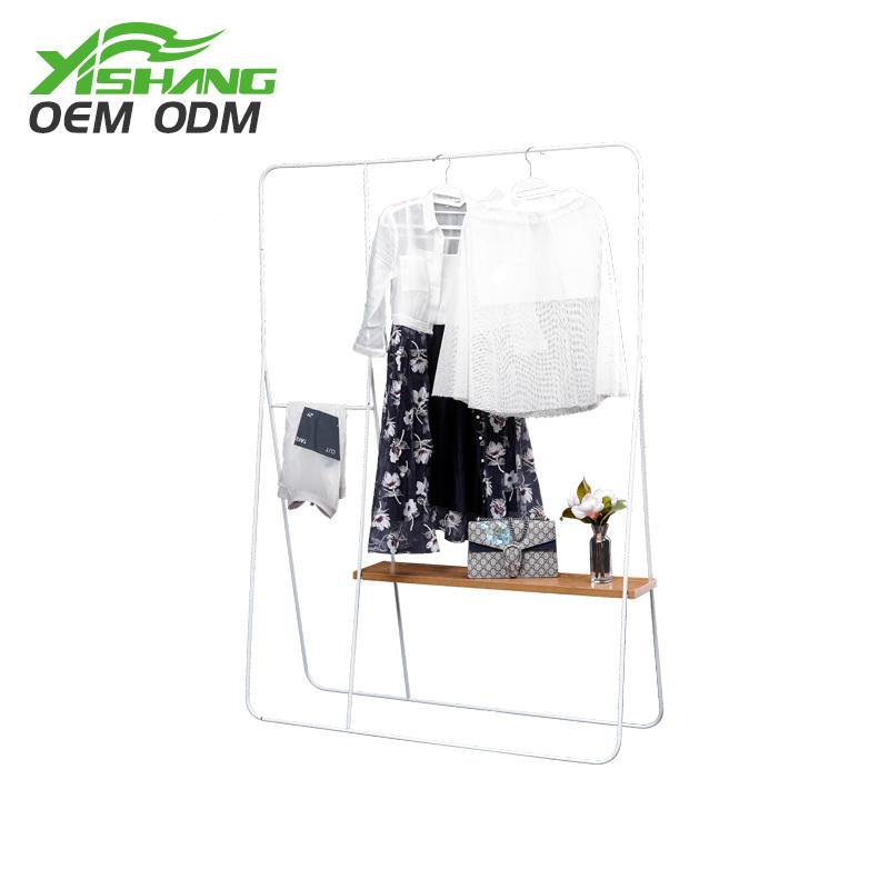 stand clothing metal garment rack display YISHANG company