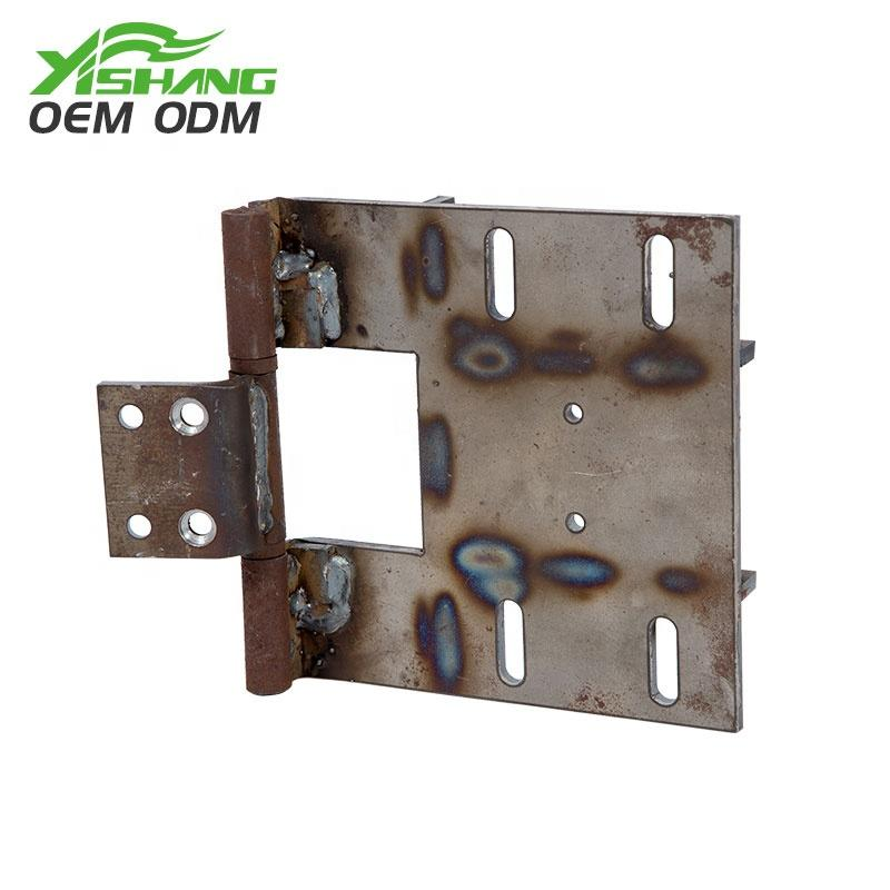gold steel metal parts fabrication YISHANG company