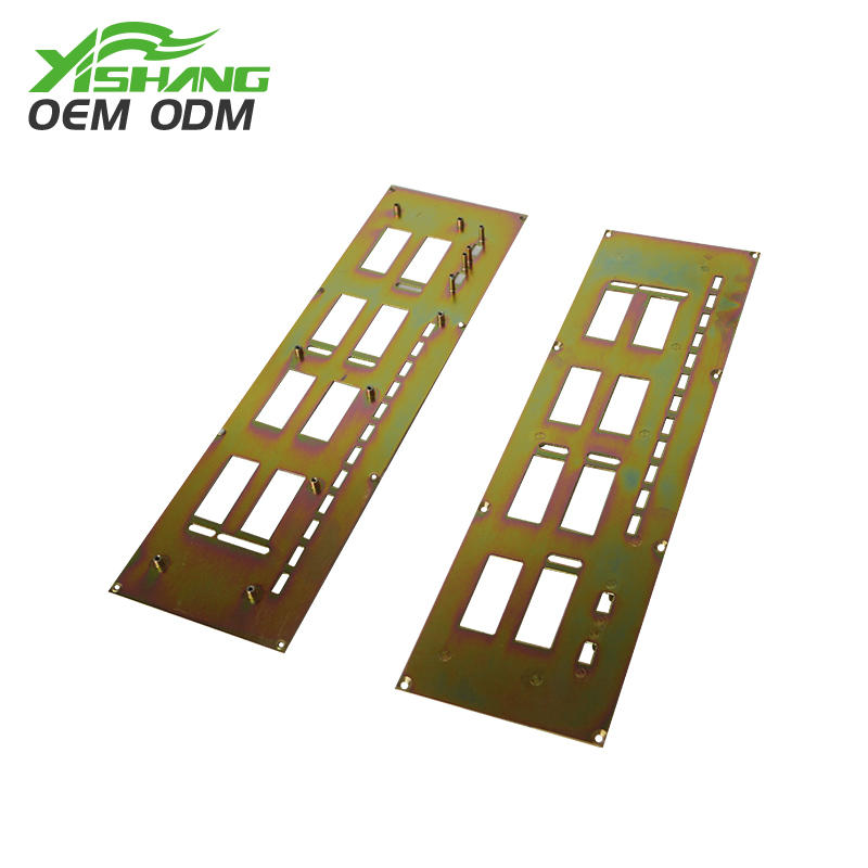 Custom Color-zinc Galvanized Steel Parts Sheet Metal Working
