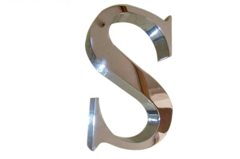 Custom Stainless Steel Price Letters for Russia Customer
