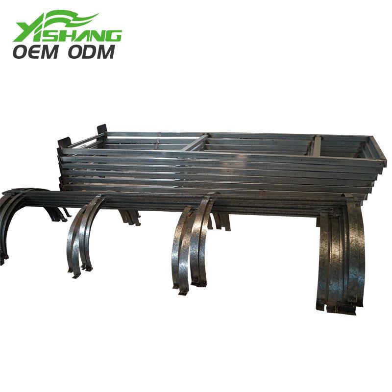 Custom Galvanized Steel Sheet Metal Fabrication