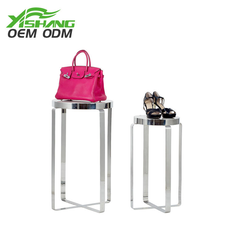 OEM ODM Shoe and Handbag Display Stand Sets