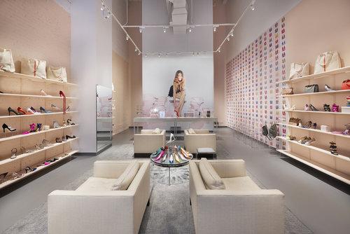 YISHANG -OEM ODM Shoe and Handbag Display Stand Sets From Yishang-1