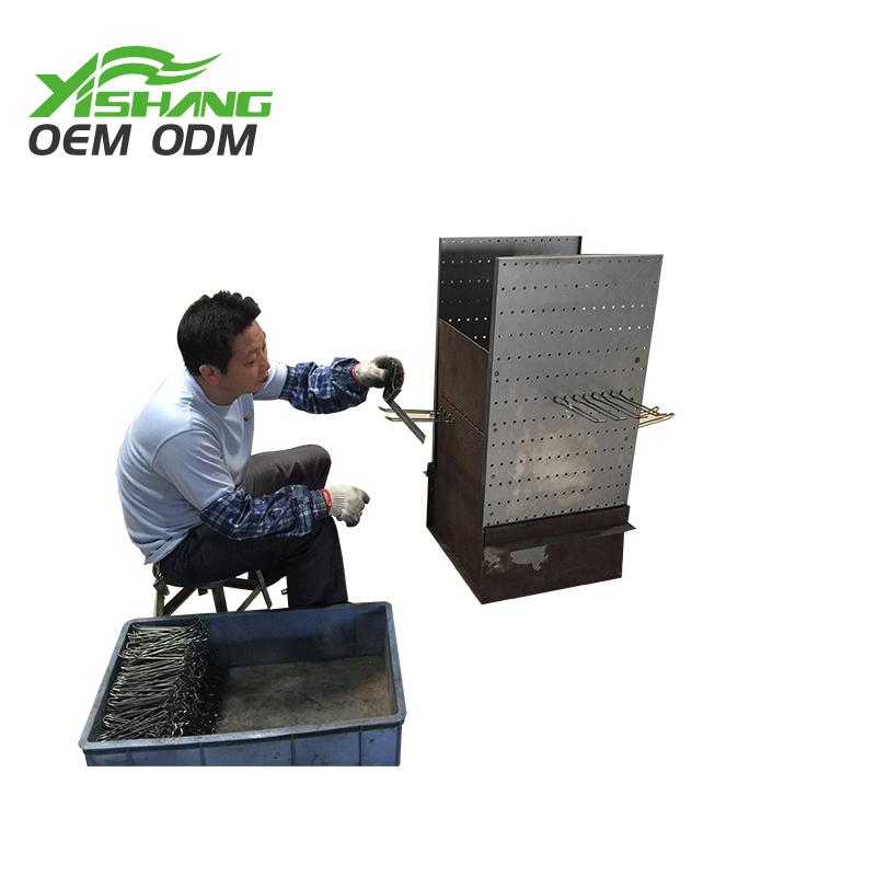 YISHANG -Custom Sheet Metal, Custom Powder Coated Or Chromeplated Metal Pegboard Hook-1
