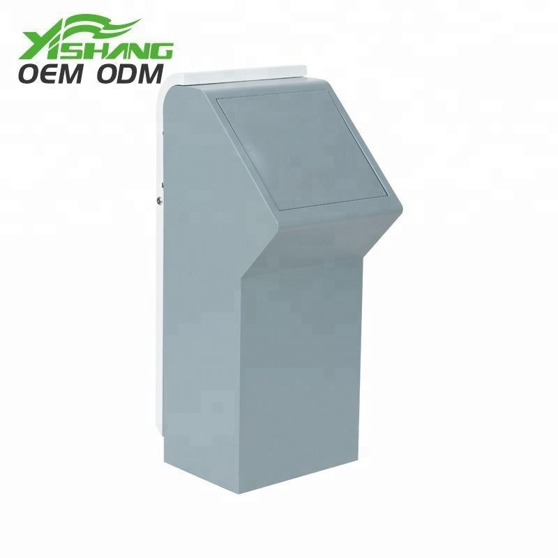 Custom Metal Trash Garbage Can Dustbin