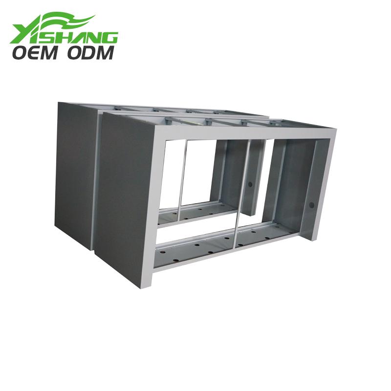 YISHANG -Custom Sheet Metal Frame Fabrication Parts on Yishang Display