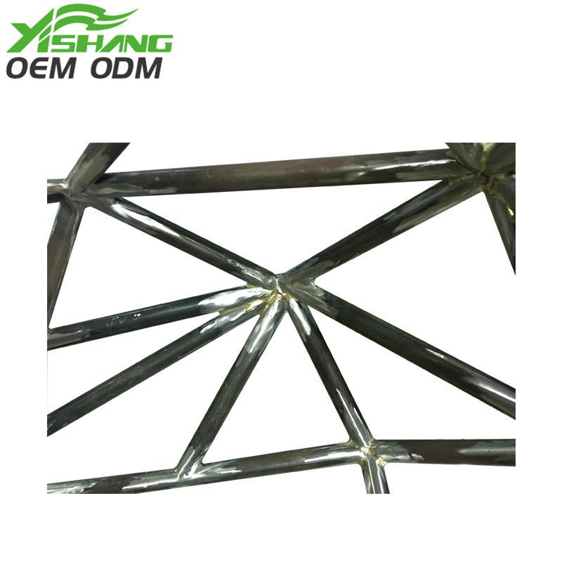 custom metal frame frames sheet metal parts metal YISHANG Brand
