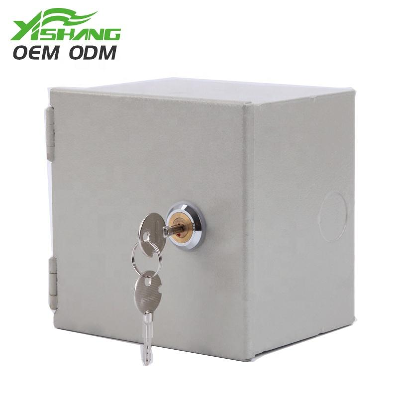 Custom Small Lockable Case from Metal Lockable Box Manufacturer