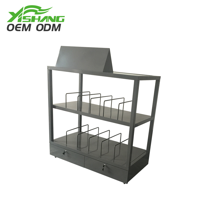 YISHANG -Custom Metal Display Pillow Stand With Wheels Manufacturer